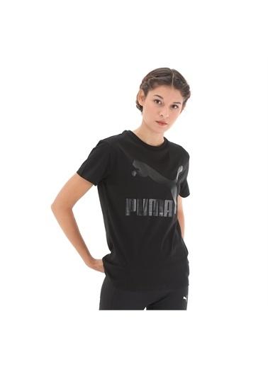 Puma Puma Classics  Logo Kadın Tişört 53087651 53087651010 Renkli